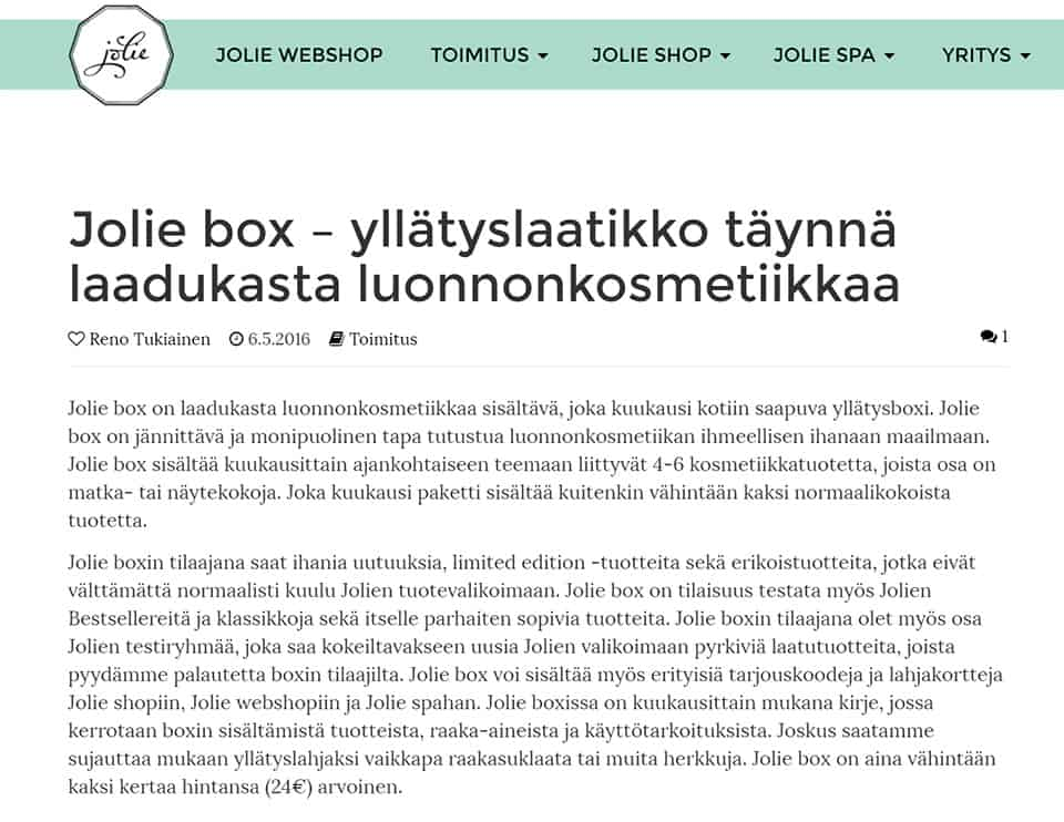 Jolie-Box